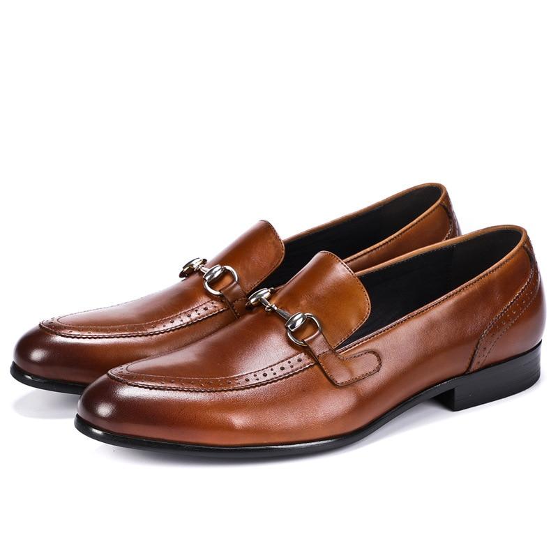 c4d2565ccc Cuero Bullock Vestir Negocios Negro Ocasionales De Zapatos chocolate Los  Para Hombres Hombre qq0w4rCE
