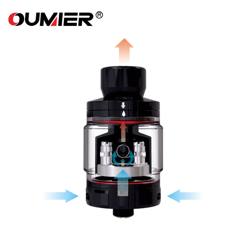 100% Original OUMIER BOMBUS RTA 24.5mm Diameter Atomizer 2ml/3.5ml with Big Deck for Single Coil Building VS OUMIER WASP NANO100% Original OUMIER BOMBUS RTA 24.5mm Diameter Atomizer 2ml/3.5ml with Big Deck for Single Coil Building VS OUMIER WASP NANO