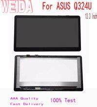 цена на WEIDA 10.3'' For ASUS Q324U LCD display Touch Panel Screen Assembly B133HAN02.7 FHD 30 PINS 1920*1080