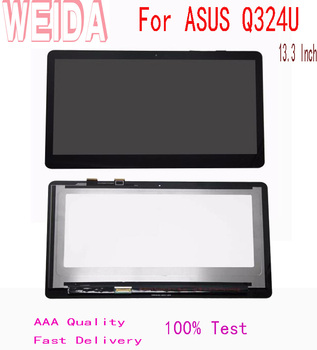 WEIDA 10.3'' For ASUS Q324U LCD display Touch Panel Screen Assembly B133HAN02.7 FHD 30 PINS 1920*1080