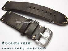 7c67ee862d4 Men Retro handcraft 18 19 21 22mm High Quality strap Genuine Leather Watch  band for Omega Seiko Tissot Mido Watch Straps +tool
