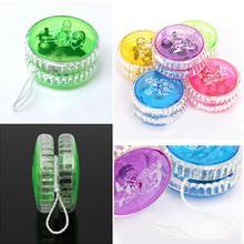 Fashion Light Up Trick Clutch Mechanism Toy Speed Ball Return Top Yo-Yo Child Gi