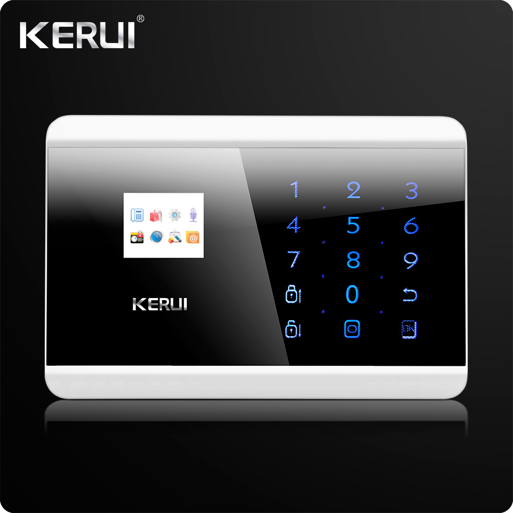Image 3 - IOS Android APP  Control Touch Panel Wireless GSM PSTN  Dual Net Home Security Burglar  Alarm System  Auto dial Secure System-in Alarm System Kits from Security & Protection