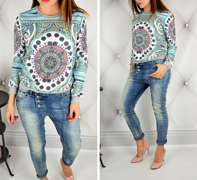 05ac81ec3bb6 Women Long Sleeve Summer Exotic T-Shirt Printed Casual Street Wear Tops  Clothes