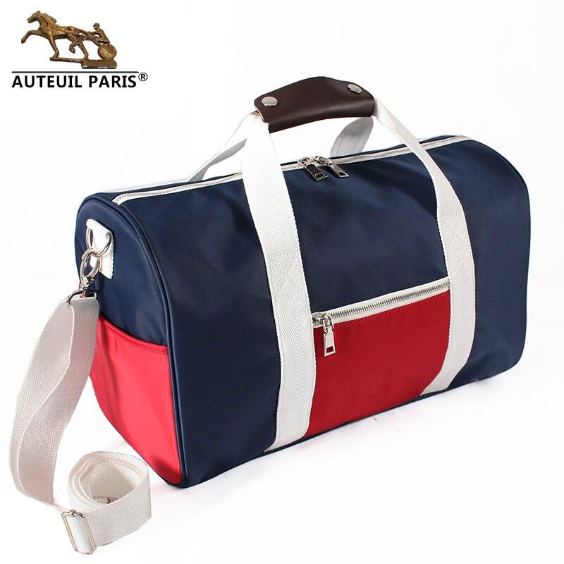 Sac de voyage de grande capacité pour femmes grand sac de voyage en nylon véritable mode très grand week-end sac d'emballage cubes Auteuil paris offre spéciale