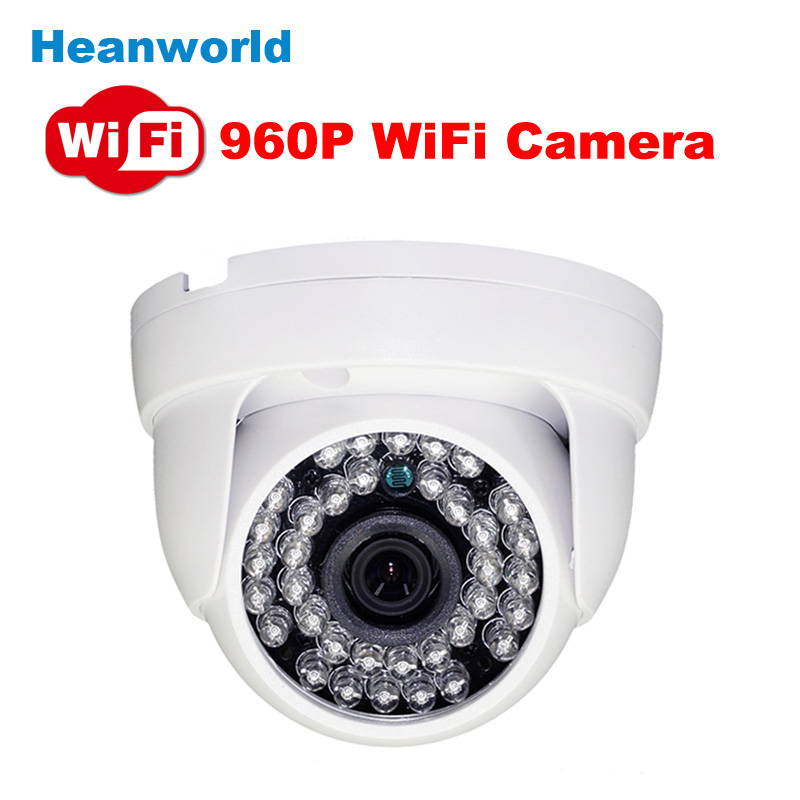 Cheap HD 960P Wireless IP Camera Wifi built-in antenna 1.3MP Night Vision indoor Home use Video ...