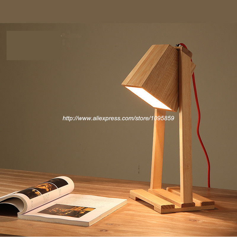 Wooden Reading Table ~ Aliexpress buy free shipping modern searchlight
