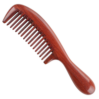 High QUALITY Hair Health Care Massage Whole wood Widen Teeth Green sandalwood Handle Combs Makeup Brushes Professional Brush