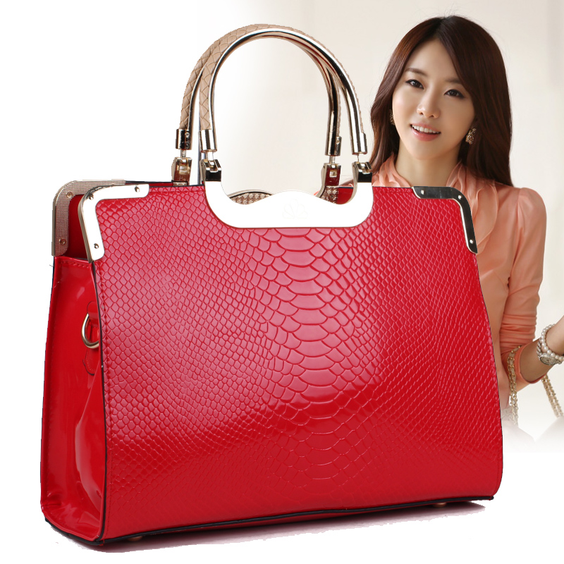 Aliexpress.com : Buy New Arrival Fashion crocodile pattern handbag ...