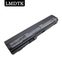 LMDTK Novo 6 Células bateria do portátil Para HP EliteBook 2560 p 2570 p Series HSTNN-DB2L HSTNN-DB2M HSTNN-I08C HSTNN-I92C SX06 SX06XL