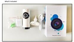 Rybie oko panorama VR IP WIFI bezprzewodowa 180 stopni 1.0Mp kamera sieciowa do monitoringu