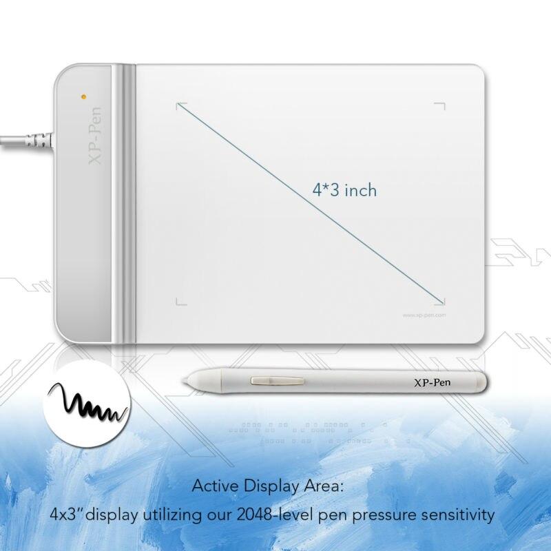 XP-Pen G430S Tableta de dibujo Tableta gráfica Tableta de pintura de - Periféricos de la computadora - foto 3