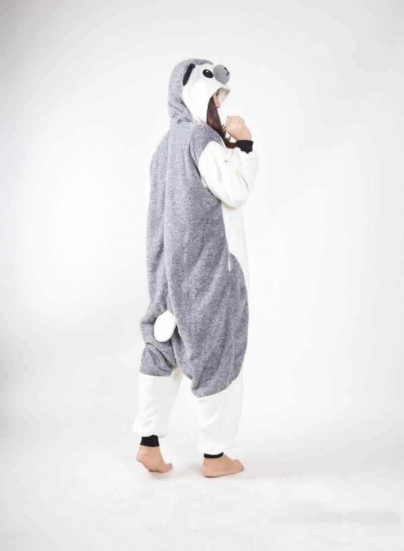 ... Кигуруми животных Пижама Ежик Свободный комбинезон унисекс спальный  костюм для взрослых пижамы костюмы для косплея Onesie ... a9b36801023e0
