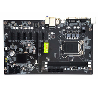 295*185mm 6 Graphics Cards Inter H81 Motherboard LGA 1150 BTC Motherboard 2*DDR3 Memory Mainboard Computer mining Motherboard