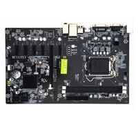 295*185mm 6 Graphics Cards Inter H81 Motherboard LGA 1150 BTC Motherboard 2*DDR3 Memory Mainboard Computer mining Motherboard