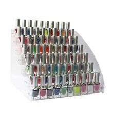 2/3/4/5/6/7 layers Nail Polish Display Rack Acrylic Clear Cosmetic Varnish Display Stand Holder Manicure Organizer Storage