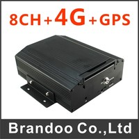 Colombia Hot Sale 8 Channel 4G Mobile DVR Support 4G 3G GPS