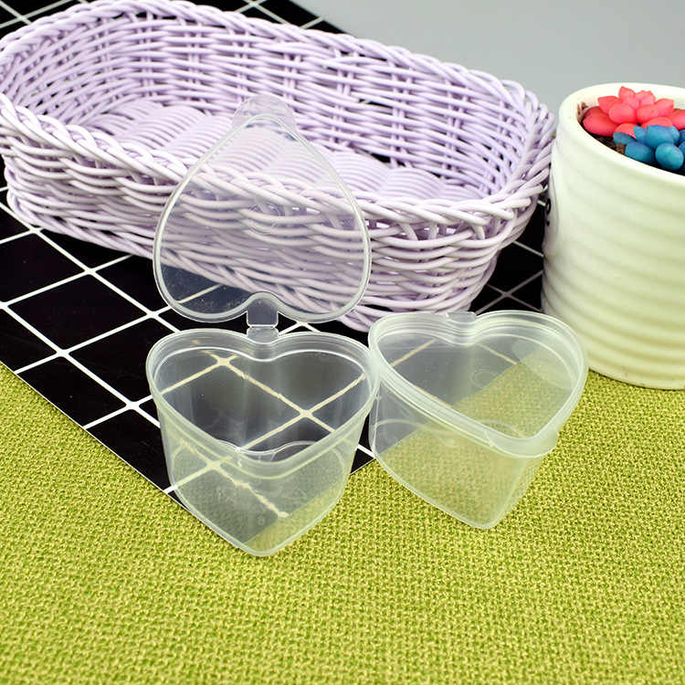 12pcs/lot 45ml Storage Container Organizer Box With Lid For Play Slime Mud Light Clay Slime Accessories Slime Container