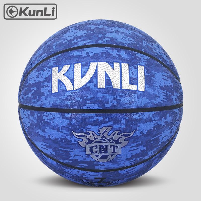 orijinal KUNLI basketbol topu KLBA201 BLUE Size7 size6 size5 Marka - Komanda idman növləri - Fotoqrafiya 2