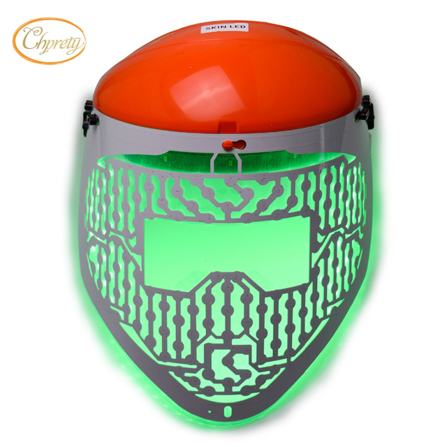 New 3 Color LED Light Therapy Face Mask Skin Care Photon Rejuvenation Acne Remover Beauty Face Skin Care Tools Red Green Blue