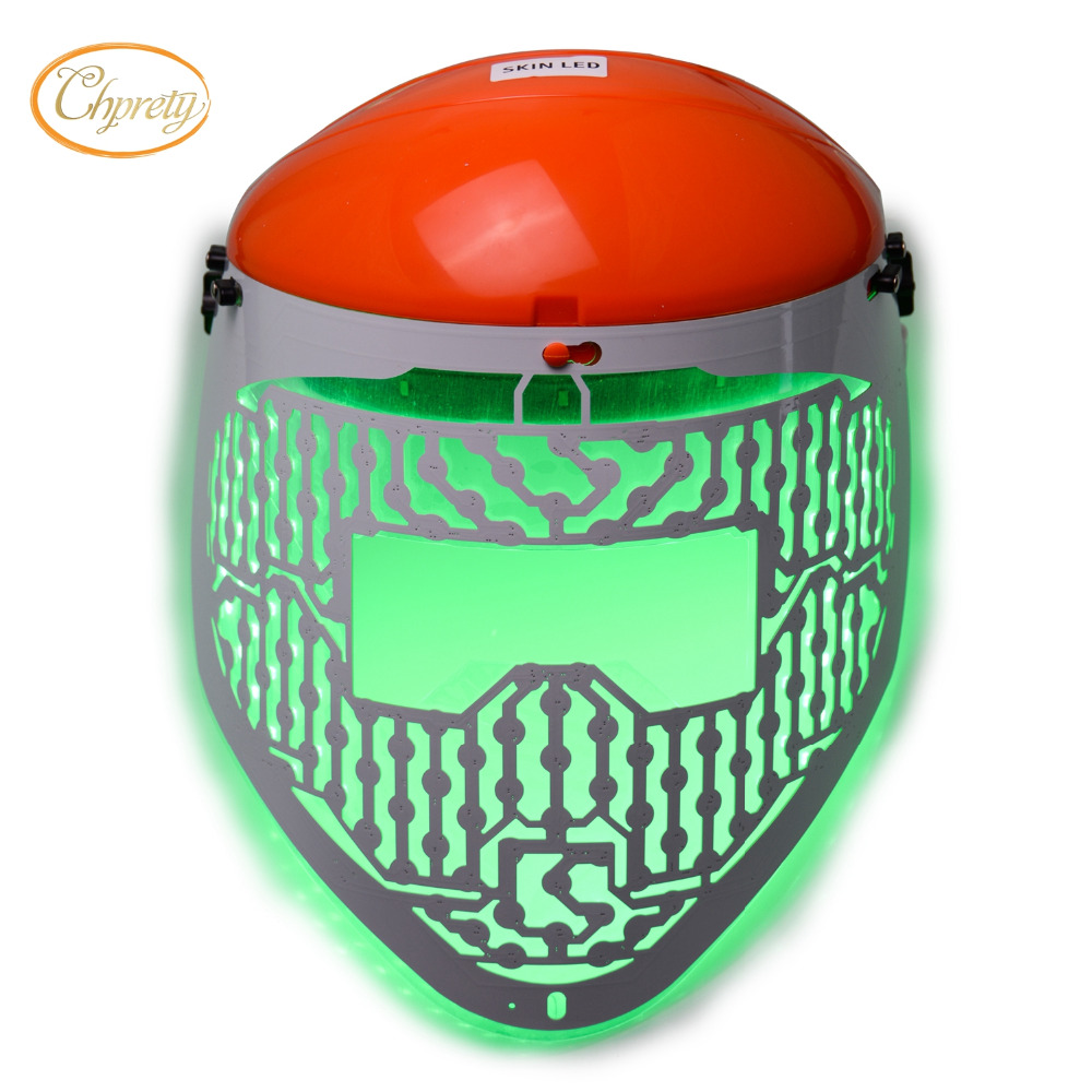 New 3 Color LED <font><b>Light</b></font> Therapy <font><b>Face</b></font> Mask Skin Care Photon Rejuvenation Acne Remover Beauty <font><b>Face</b></font> Skin Care Tools Red Green Blue