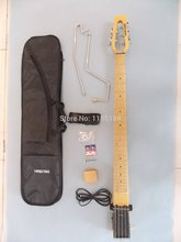 Hot Sale Free shipping MiniStar Bassstar 5 Strings Travel Guitar G-BO3 Built in Headphone Amp electric Including Bag