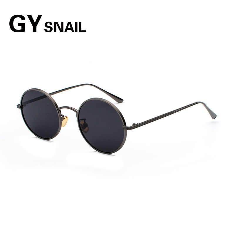 00f24f412ac3 GYsnal 2019 Vintage Small Sunglasses Men Women Retro Metal Brand Designer  Classic Sun Glasses For Male