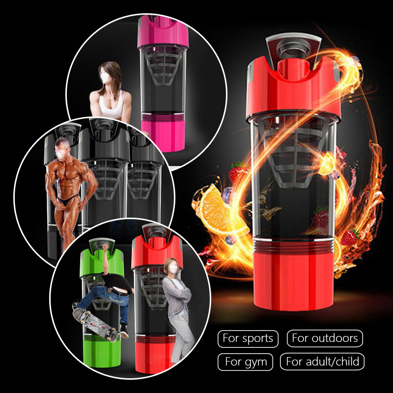 Protein Shaker whey protein powder for fitness gym shaker sports nutrition mixer bottle For Protein Powder water bottle