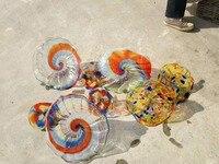 Книги по искусству роскошные украшения морской Стиль Мурано Стекло Таблички стены Книги по искусству