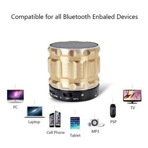 Image 4 - Aimitek S28 Portable Metal Mini Bluetooth Speaker Wireless Steel Outdoor Handsfree Stereo Subwoofer Support FM Radio TF Card AUX