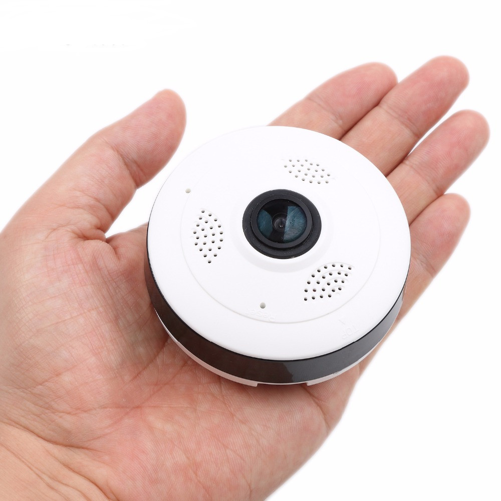 960P VR wifi mini camera wireless panoramic IP Camera HD 1.3MP fisheye 360 Degree Mini CCTV camera Home Security Mini P2P Camara hd smart cctv ip camera wifi 960p panoramic wireless fisheye vr camara p2p wi fi home security cameras cheap 1 3mp 360 degree