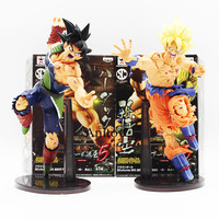 22CM Dragon Ball Z SCultures BIG Resurrection Of F Styling God Super Saiyan Son Goku Bardock
