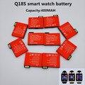 1 Pçs/lote 2016 original novo autêntica Q18S inteligente relógio do telefone móvel da bateria 3.7 V 400 MAH bateria de relógio bateria