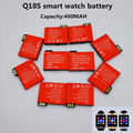 1PCS/Lot  2016 new original authentic Q18S smart watch mobile phone battery 3.7V 400 MAH battery watch battery