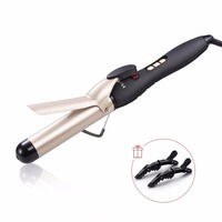 Huachi Ceramic Hair Curler Professional LCD Hair Curling Iron Fashion Styling Tools Hairdressing Salons