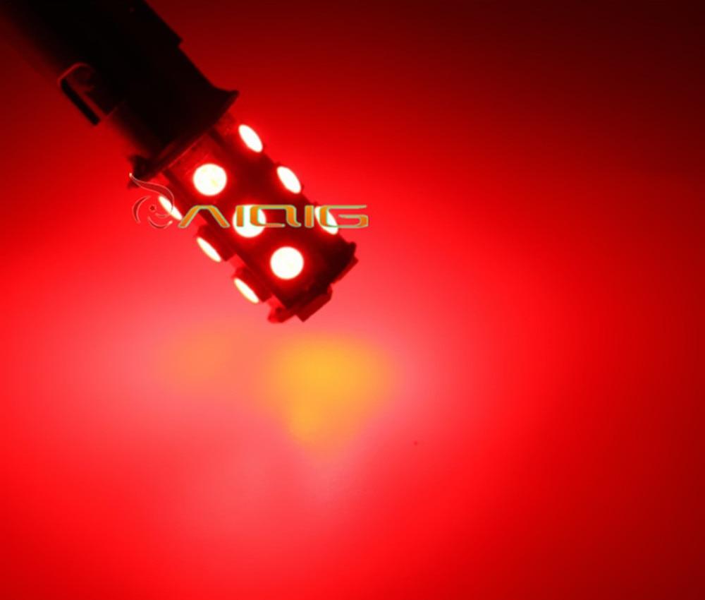 1156 BA15S 18 SMD 5050 Kırmızı, Beyaz, Sarı LED Araba Ampuller - Araba Farları - Fotoğraf 2
