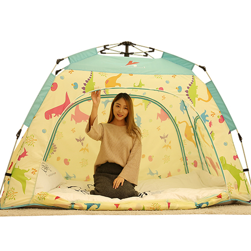 New Automatic Indoor Adult And Children s Bed Tent Mosquito Windproof Tents Dormitory Summer Tent