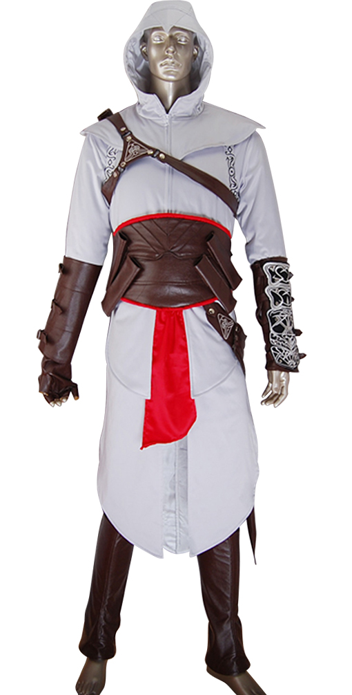 Kids Boys Altair costume jacket hoodie cosplay halloween costume make-up costume comic-con anime costumes