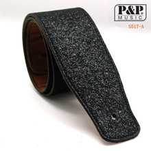 Pu  High quality Leather Guitar Strap For Acoustic Electric Folk Guita solid and durable acoustic guitar strap for guitar S517AB