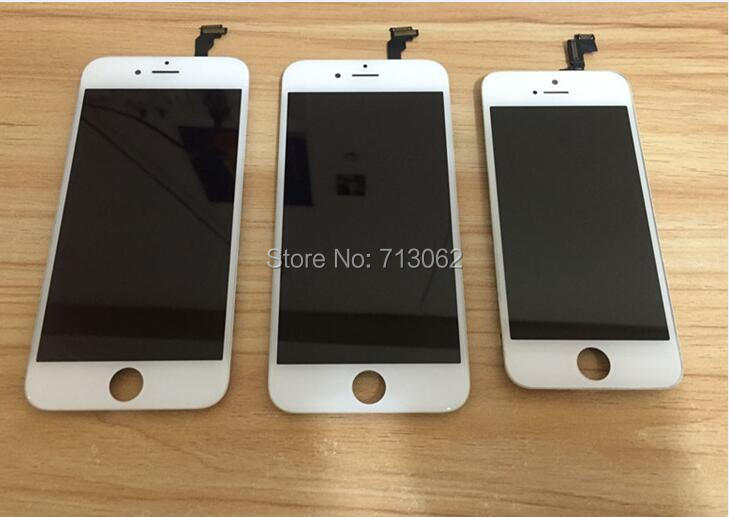 Lcd-Screen-Display IPhone 6 Digitizer For With Assembly-Black/white 15pcs/Lot Aaa-4.7inch