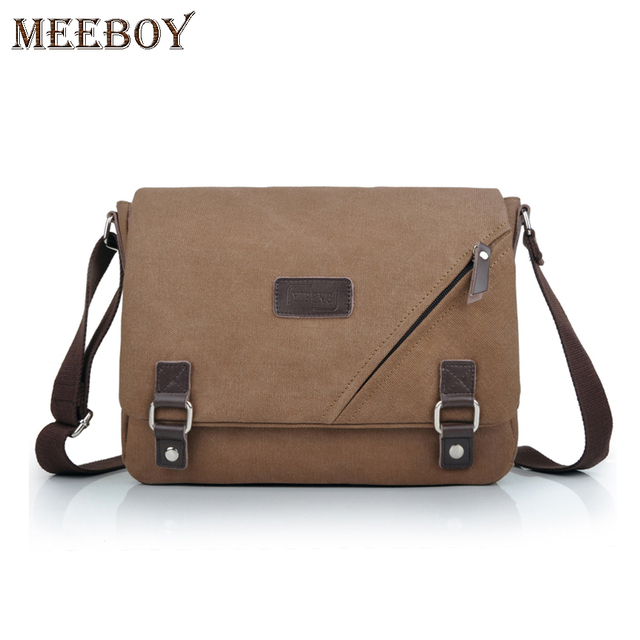 Yifeng Men S Small Shoulder Bag Cross Male Korean Canvas Messenger School Bags Ipad