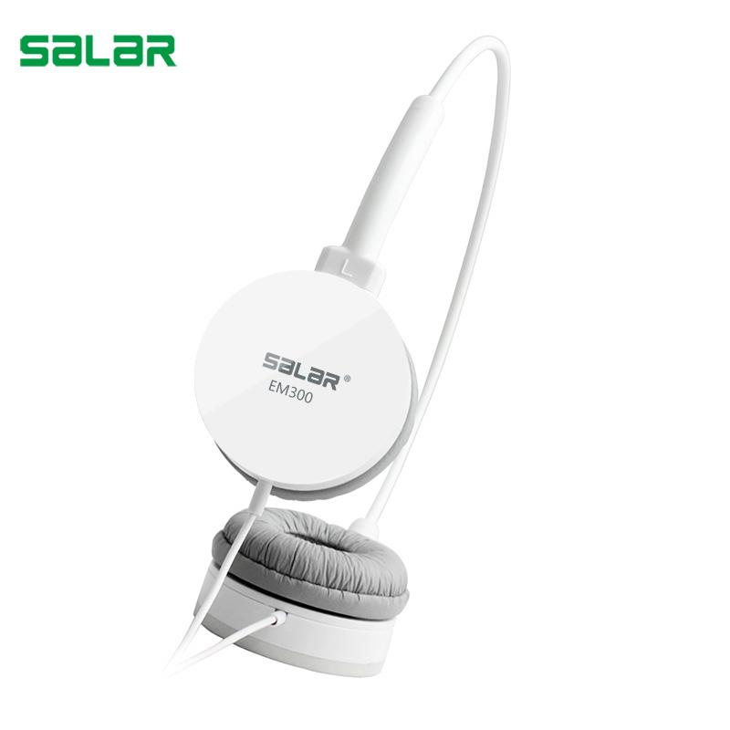 Salar EM300 Professional Monitor Music Hifi Headphones Headset Without Mic Bass Noise-Isolating Stereo Earphones