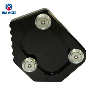 Image 1 - waase For Honda XLV 600 650 700 TRANSALP / DOMINATOR NX 650 / FMX 650 Kickstand Foot Side Stand Extension Pad Support Plate