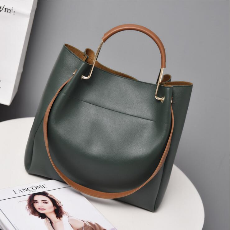 Lkprbd high quality PU leather shoulder bag hot brand fashion leisure shopping bag tote bag design high quality handbag