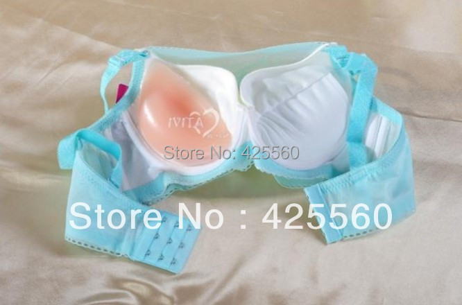 1 Pair Silicone Breast Pad Enhancer Thick 180g