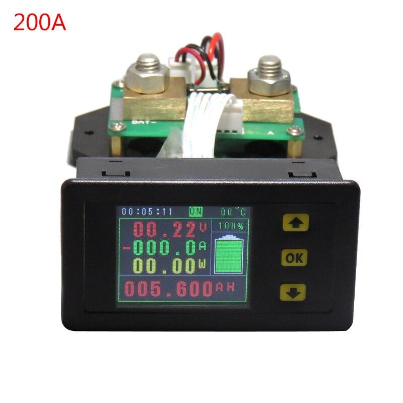 DC120V 100A 200A 300A 500A LCD moniteur de surveillance de courant de tension de compteur combiné