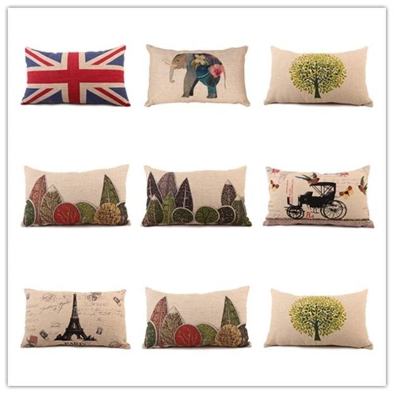 New nordic fashion view view printed - Fundas cojines sofa ...