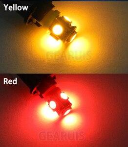 Image 5 - 50 teile/los AC DC 6,3 V T4W BA9S 5 SMD 5050 LED nicht polar Flipper spiel Maschine Glühbirne Lampe nicht geisterbilder anti flackern Birne 6V