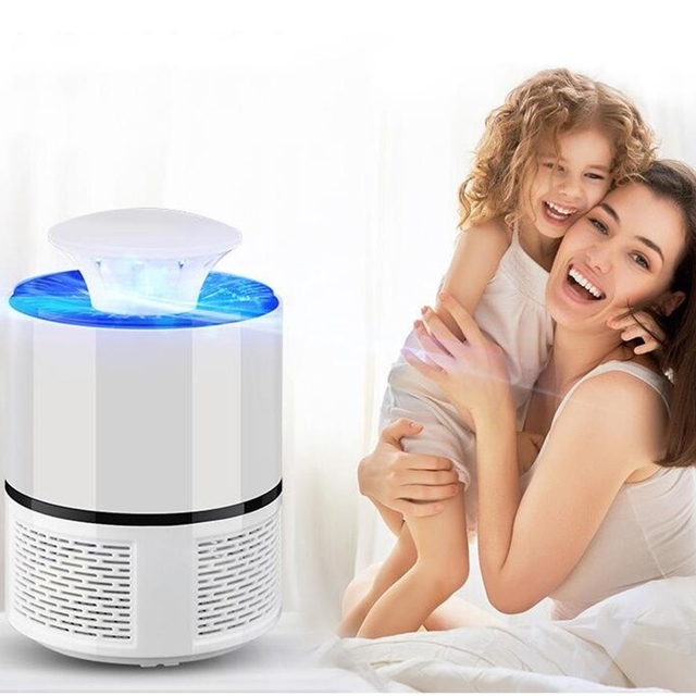 USB Electronics Mosquito Killer Trap Moth Fly Wasp LED Night Light Lamp Bug Insect Lights Killing Pest Zapper Repeller 110V/220V 3
