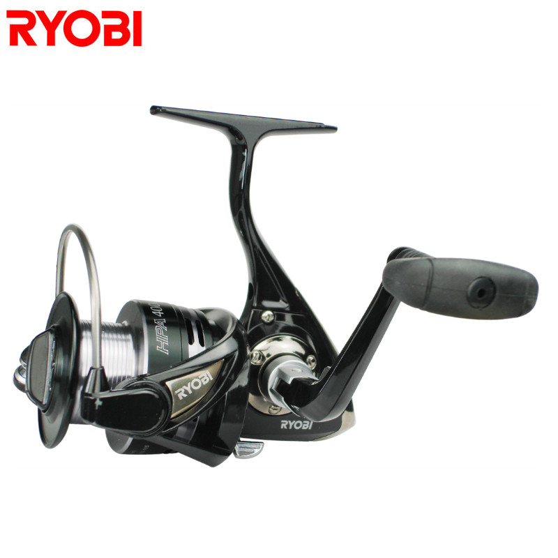 цена на RYOBI 1000-8000 Series Spinning Fishing Reel 6+1BB 5.1:1/5.0:1 Carp Fishing Reel Saltwater Wheel Carretilhas De Pesca Coil Peche
